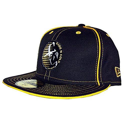 Dark N' Cold Original Capman Fitted Baseball Cap Black Gold