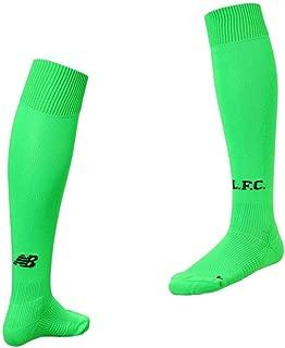 New Balance Liverpool FC Green Polyester Boys Soccer Away Goalkeeper Socks 2019/2020 LFC Official