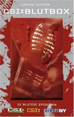 CSI Blutbox (Starmetalpack und Blutbeutel) [Limited Edition] [3 DVDs]
