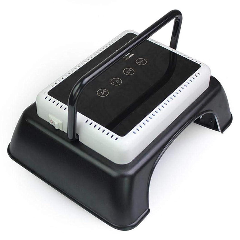ミトンエレベーターパラナ川持ち上がるハンドル、タッチセンサー、LCDスクリーンが付いているゲルのマニキュアマニキュア用具のための専門64W LED紫外線釘LampNailのドライヤーライトハイパワー