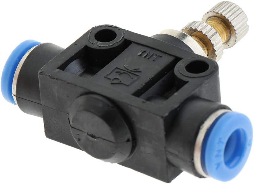 4mm perfk Spinta Da 4 Mm A 12 Mm Per Collegare La Valvola A 3 Vie Raccordo A Vite Raccordo Di Intercettazione Valvola Pneumatica Valvola A Innesto Per Vuoto