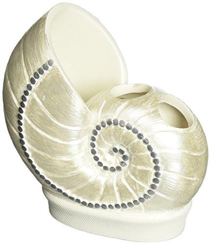 Avanti Sequin Shells Toothbrush Holder