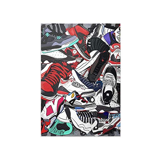 YGYT Canvas Painting Shoes Pictures…