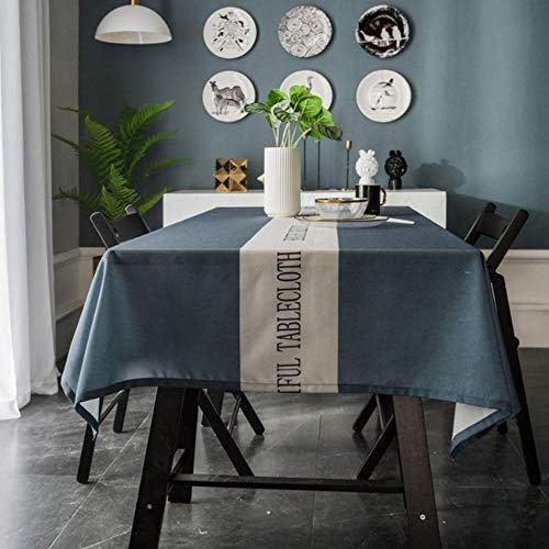 Nordic Rechthoekige Keuken Bureau Tafelkleed Waterdicht Anti-Hete Thee Tafelkleed Tv Kast Cover Doek 140X210Cm