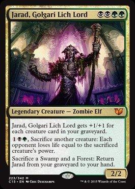Magic The Gathering - Jarad, Golgari Lich Lord (223/342) - Commander 2015