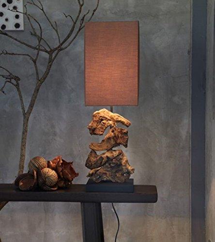 Design Treibholz Lampe Tischlampe Nachttischlampe Tischleuchte