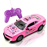 Blooming lilies Pink Remote Control Racing Car Toy for Girls Toddlers Kids Birthday Christmas Party Gifts - Toy Vehicles, RC Car Gift