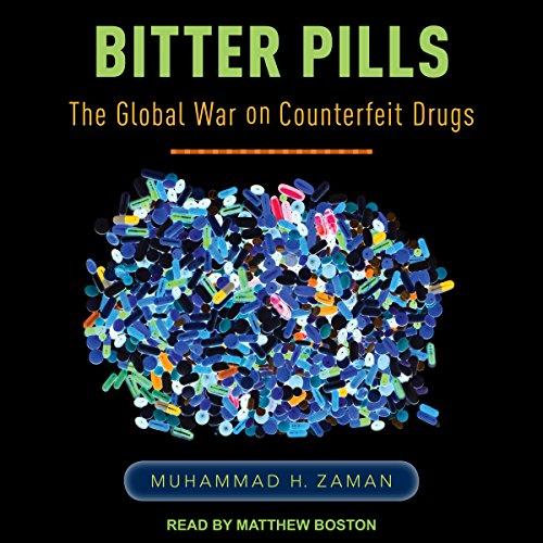 Bitter Pills audiobook cover art