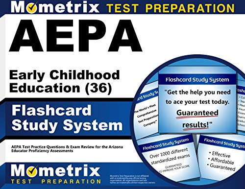Aepa Early Childhood Education 36 Flashcard Study System Aepa Test Practice Questions Exam Review For The Arizona Educator Proficiency Assessments Cards