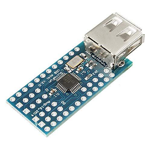 ZHI BEI DDWJ - Versión extendida y Placa Protectora. Mini USB Host Shield 2.0 para la Herramienta de Desarrollo ADK SLR