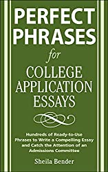 On writing the college application essay by harry bauld