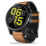 SUQIAOQIAO Zeblaze Thor 4 PRO Smart Watch 1+16GB Memory 4G Entertainment Call Smart Watch 1.6 Inch LTPS Crystal Display 5.0MP,Brown