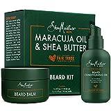 Shea Moisture Beard Oil & Balm Grooming Kit For Men, Organic All...