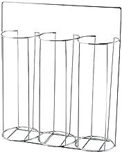 Adamas-Beta Petri Dish Dispenser Rack, 304 Stainless Steel Petri Dish Carrying Holder, 3 Stacks, Hold up to 90 Petri Dishes, 1pcs
