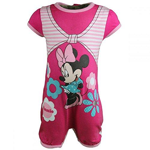 Minnie - Barboteuse - bébé Fille - Rose