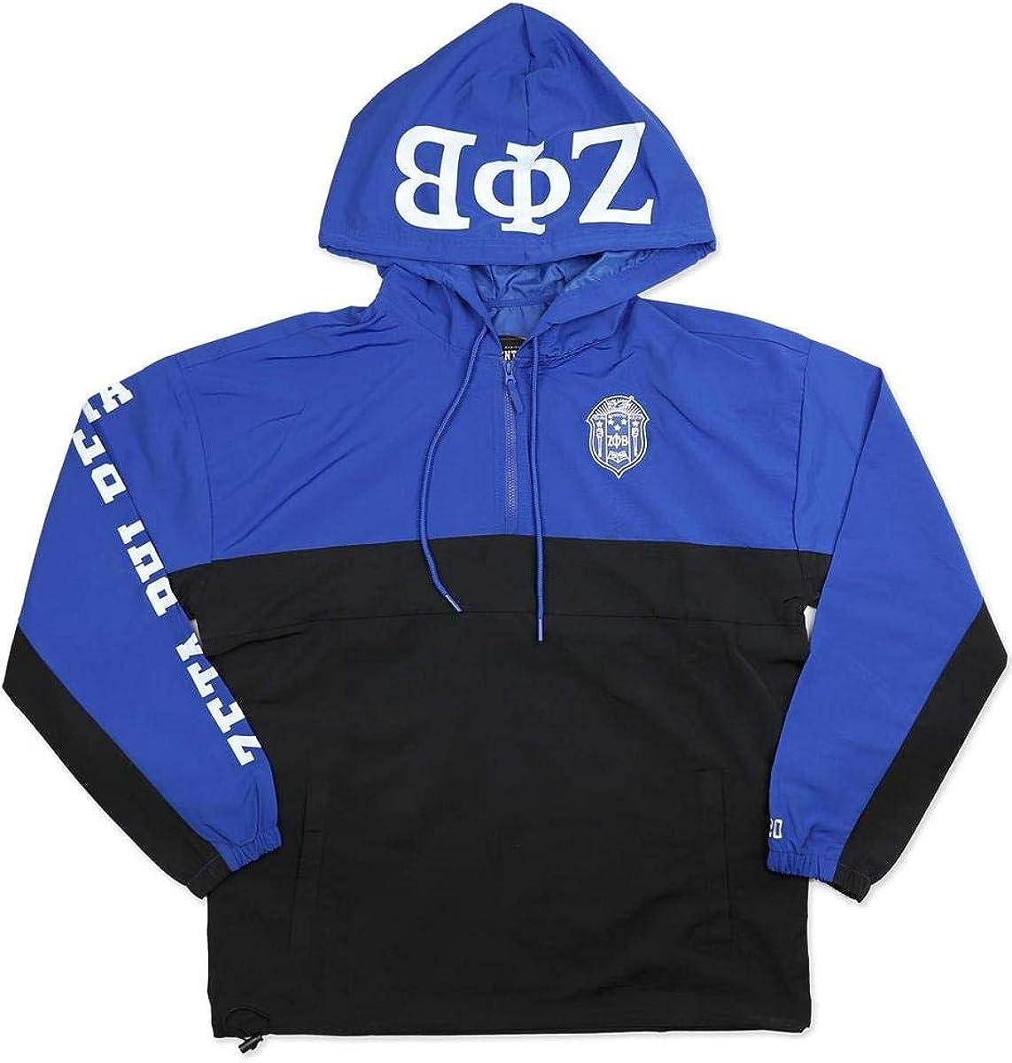 Zeta Phi Beta Sorority Waterproof Anorak Jacket