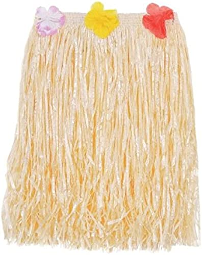 ventas en linea Amscan Hawaiian Summer Luau Party Party Party Adult Mini Hula Skirt, blanco, 23.5 x 5 X-Large by Amscan  muchas concesiones