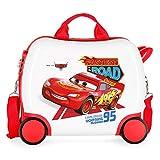 Disney Cars Good Mood Maleta Infantil Multicolor 50x38x20 cms Rígida ABS Cierre combinación 25L 2Kgs 4 Ruedas Equipaje de Mano