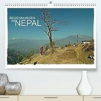 BEGEGNUNGEN IN NEPAL (Premium, hochwertiger DIN A2 Wandkalender 2022, Kunstdruck in Hochglanz): Begegnungen mit den Menschen aus Nepal (Monatskalender, 14 Seiten )
