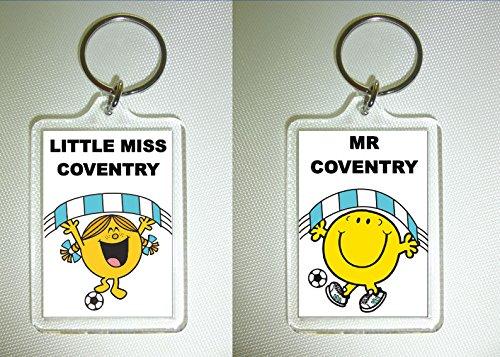 Coventry City FC Football Keyring