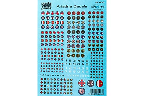 PCG INFINITY DECALS ARIADNA