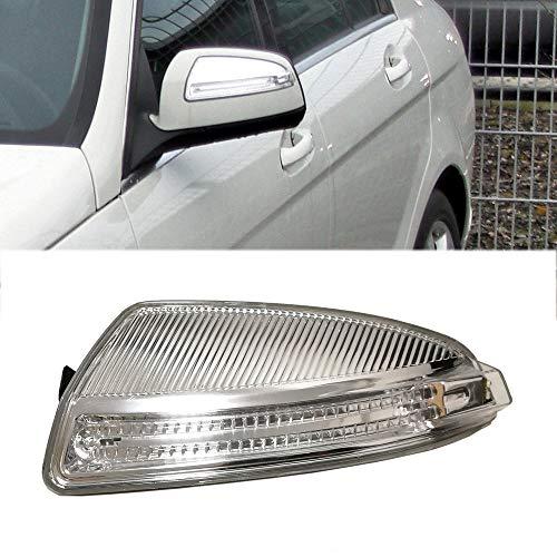Ricoy pour W204 Classe C C250 C300 C350 C63 Porte Rétroviseur boîtier tour Signal Indicateur côté ampoule LED