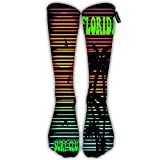 Randell Unisex Classic Knee High Over Calf New York Sport 3D Print Athletic Soccer Tube Cool Fun Party Cosplay Socks