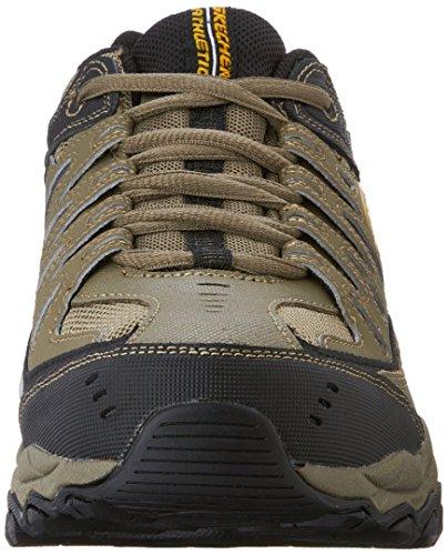 Skechers Sneaker Sport Afterburn Mousse à Mã©Moire de Lacets