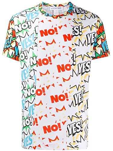 Comme des Garçons Shirt Luxury Fashion Herren W271051 Multicolour Baumwolle T-Shirt | Frühling Sommer 20