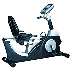 Tecnovita Confort Ergo Bicicleta reclinada, Unisex, Negro, Azul ...