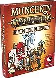 Pegasus Spiele 17022G - Munchkin Warhammer Age of Sigmar: Chaos & Ordnung [Erweiterung]