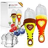 O³ Chupete Fruta Bebe - 2 Unidades con 6 Tetinas De Diferen