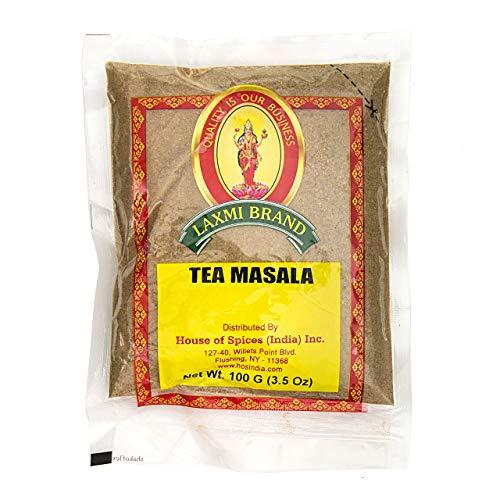 Laxmi Natural Tea Masala - Traditional Indian Tea Masala - 3.5oz (2 Pack)