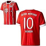 adidas FC Bayern München FCB Herren Home Trikot 2017 2018 Arjen Robben 10 Gr L