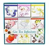 Modern Gourmet Foods - Gin Tee Infusion Set - Geschenk-Set Mit 9 Verschiedenen Tee-Mischungen Zum Mischen Mit Gin