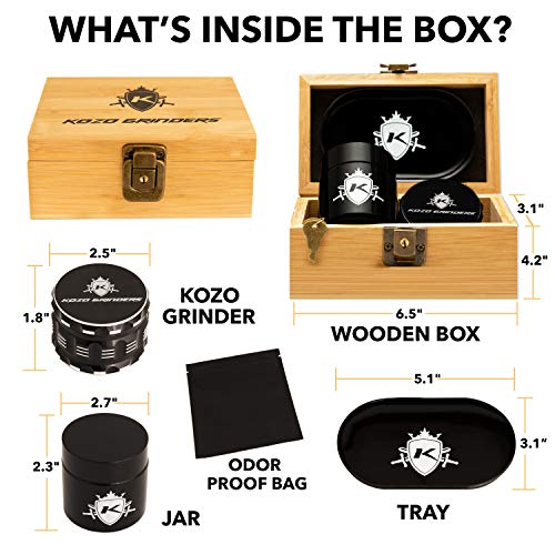 Kozo Wood Stash Box Kit