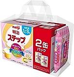 明治 ステップ 2缶パック(景品付き) 800g×2缶 1歳~3歳頃 フォローアップミルク ×2缶 1歳から1歳半