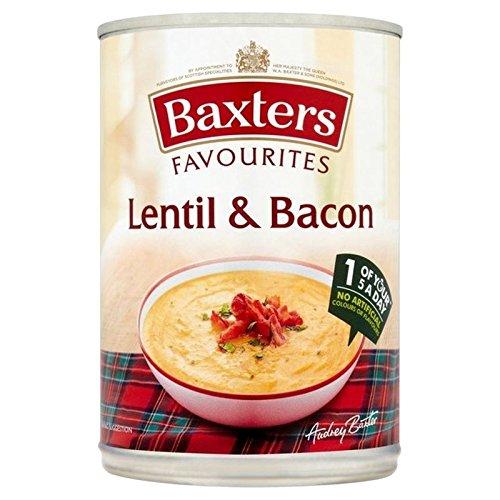 Baxters Favoris Lentilles Et Soupe Au Lard 400G - Paquet de 6