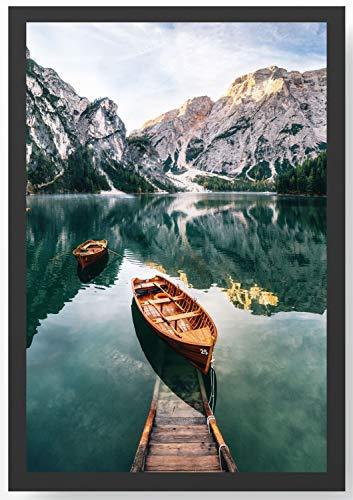 See Steg Boot Kunstdruck Poster -ungerahmt- Bild DIN A4 A3 K0285 Größe A4