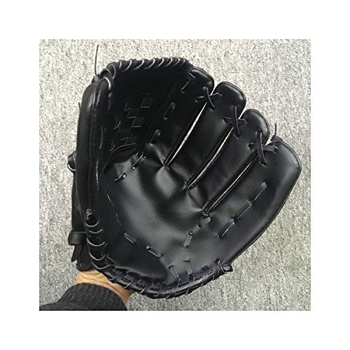 Windlia PU Leather Baseball Glove Pitcher's Softball Outdoor Team Sports Left Hand Baseball Practice Equipment,DK0005B05