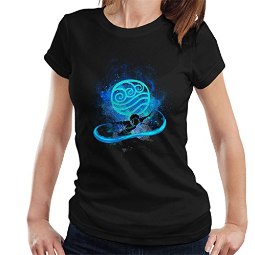 Avatar The Last Airbender Katara Silhouette Women's T-Shirt