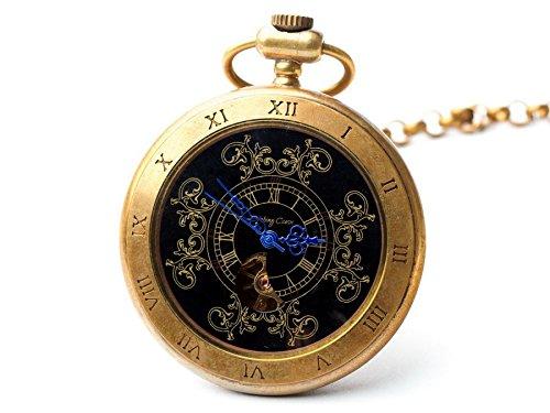 Sparks of Time Reloj Analogico para Unisex de Mecánico con Correa en Latón 74