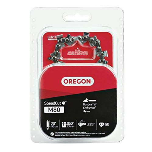 Oregon M80 SpeedCut 20-Inch Chainsaw Chain Fits Husqvarna, Craftsman , grey