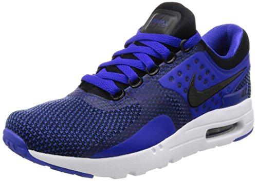 Nike Air MAX Zero Essential, Zapatillas Hombre, Negro (Black/Black/Paramount Blue/Binary Blue), 42 EU