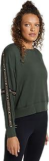 Rockwear Activewear Women's Autumn Haze Tape Trim Sweat from Size 4-18 Hoodies & Sweats for Tops