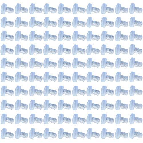 Topes de Mesa de Vidrio Protectores de Mesa de Vidrio Parachoques de Mesa de Vidrio para Topes en Puertas de Muebles para Proteger Mesas para Puertas de Armario Cajones Mesas de Vidrio 100 Piezas