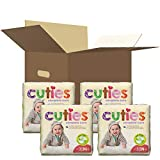 Cuties Complete Care Baby Diapers, Size 3, 136Count