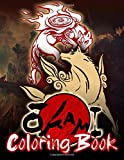 Okami Coloring Book: Okami Stress Relief Coloring Books For Kid And Adult. Perfect Gift Birthday Or Holidays