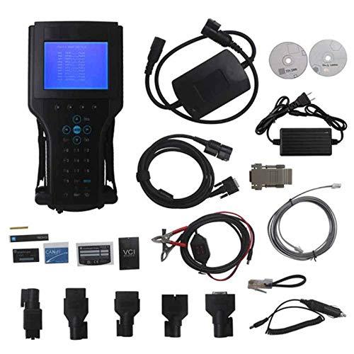 QWSA Autodetektor Auto Flash Tester Auto Diagnose OBD2 Diagnosegerät für GM/SAAB/OPEL/SUZUK/Holden/Isuzu (EIN Modellsoftware für GM Tech2 Tech 2 II) 1998-2012SAAB-Poland