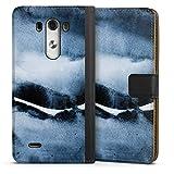 Etui Compatible avec LG G3 Etui Folio Etui magnetique Design Peinture Art